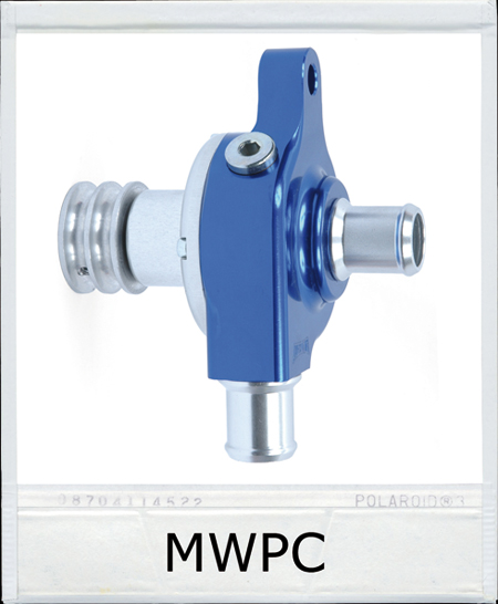 CNC WATER PUMP ANODIZED